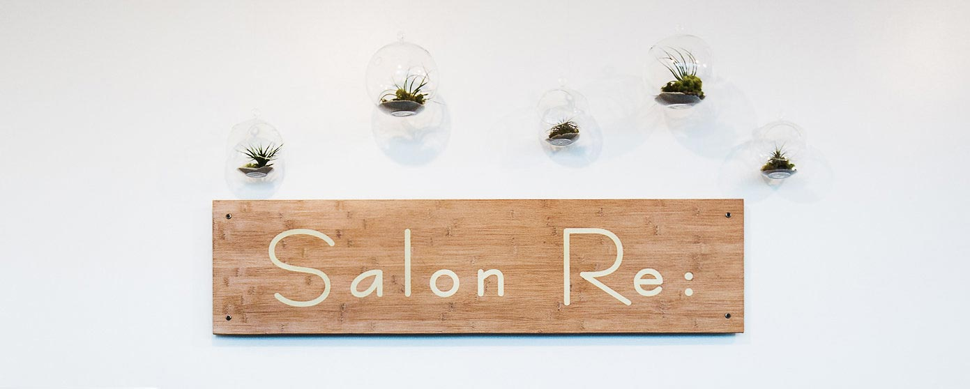salon-re-sign-and-plants